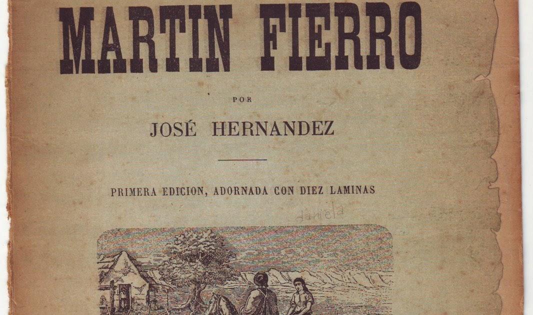 Resultado de imagen para primera edición del el martín fierro